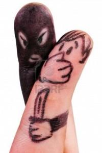 finger-mugger