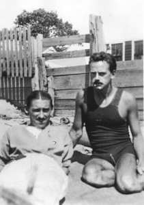 Visual artist Charles Demuth and playwright Eugene O'Neill in Provincetown