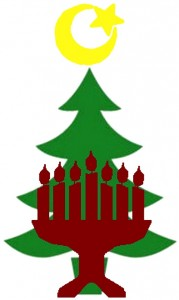 xcolored_tree menorah crescent