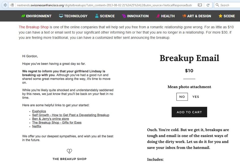 BreakupShop